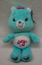 "Care Bears BLUE HEARTSONG BEAR 9"" Plush STUFFED ANIMAL Toy W/ Tag 2007 - $18.32"