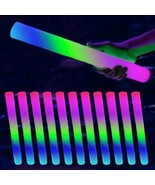 100pk LED Flashing Foam Stick Batons Light Wands DJ Glow Sticks BULK - $49.54