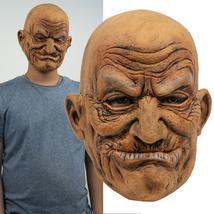 Old Man Face Headgear Halloween Party New Latex - $47.90