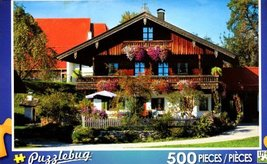 Traditional Farmhouse - Bavaria Germany - Puzzlebug - 500 Pc Jigsaw Puzz... - $17.98