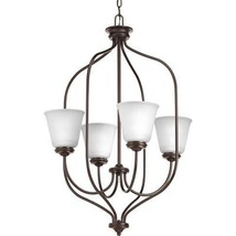 Progress Lighting P3891-20 Traditional/Casual 4-100W Med Foyer, Antique ... - $214.95