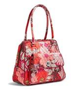 Vera Bradley Signature Cotton Turnlock Satchel Bag, Bohemian Blooms - $82.00