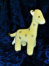 "Gymboree Stuffed Plush Giraffe Velour 8"" 2007 Baby Toy - $39.59"