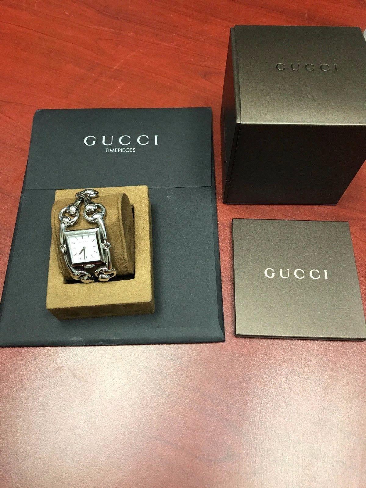 cb00cd71d4b Gucci Signoria Quartz Silver Bracelet White and 50 similar items. 57