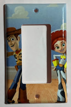 Toy Story Woody & Jessie Light Switch Duplex Outlet Wall Cover Plate Home decor image 3