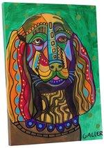 """Pingo World 0708QAU1G8G """"Heather Galler Sussex Spaniel Dog"""" Gallery Wrap... - $43.51"""