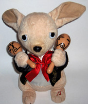 """Cuddle Barn Plush Animated Chuey Bamba Dog ~ Plays """"La Bamba"""" with Marac... - $33.00"""
