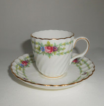 Minton Chiltern Demitasse Cup and Saucer Vintage China - $14.25