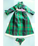 1969 IDEAL CRISSY LOOK AROUND PLAID GOWN & PANTIES Crisp Factory Oversto... - $21.78