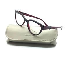 Giorgio Armani Burgundy Eyeglasses AR 7079 5421 52 mm Demo Lenses Italy - $67.87