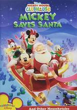 Disney Mickey Mouse Clubhouse - Mickey Saves Santa DVD