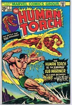 Human Torch #7 ORIGINAL Vintage 1974 Marvel Comics Sub Mariner - $18.55