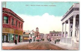 Early 1900s Beacon Street, San Pedro, CA Postcard  - $9.28