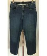 Lee Women's Platinum Label Classic Fit Straight Leg Jeans Size 14 S (32 ... - $13.95