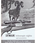 ORIGINAL Vintage Lyman Telescopic Sights & Accessories Catalog B - $18.55