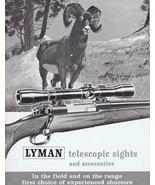 ORIGINAL Vintage Lyman Telescopic Sights & Accessories Catalog B - $19.79