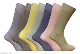 7 Pairs Ex High Street Freshfeet Mens Cotton Rich Socks silver technology - $13.29