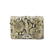Rebecca Minkoff Butter Python Snake Leather Small Love Crossbody Bag NWT - $138.42