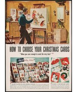 Vintage magazine ad HALLMARK CARD from 1949 Norman Rockwell painting pic... - $14.99