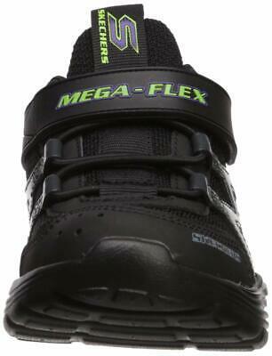 Skechers Kids Boys' MEGA-Volt Sneaker, Black/Purple, 12.5 Medium US Little Kid image 4