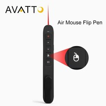 [AVATTO] High-Quality RF 2.4GHz USB Air Mouse Rechargeable PowerPoint Re... - $23.57