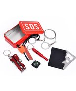 Pocket Survival Kit Outdoor Mini Emergency Survival - $12.50