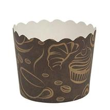 Simcha Collection Coffee Design Cupcake Wrappers Large, Case of 384 - $83.99