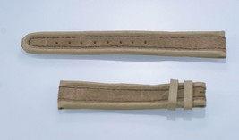 Fossil Unisex Vanille W / Beige Leder Ersatz Uhrenarmband - $9.83