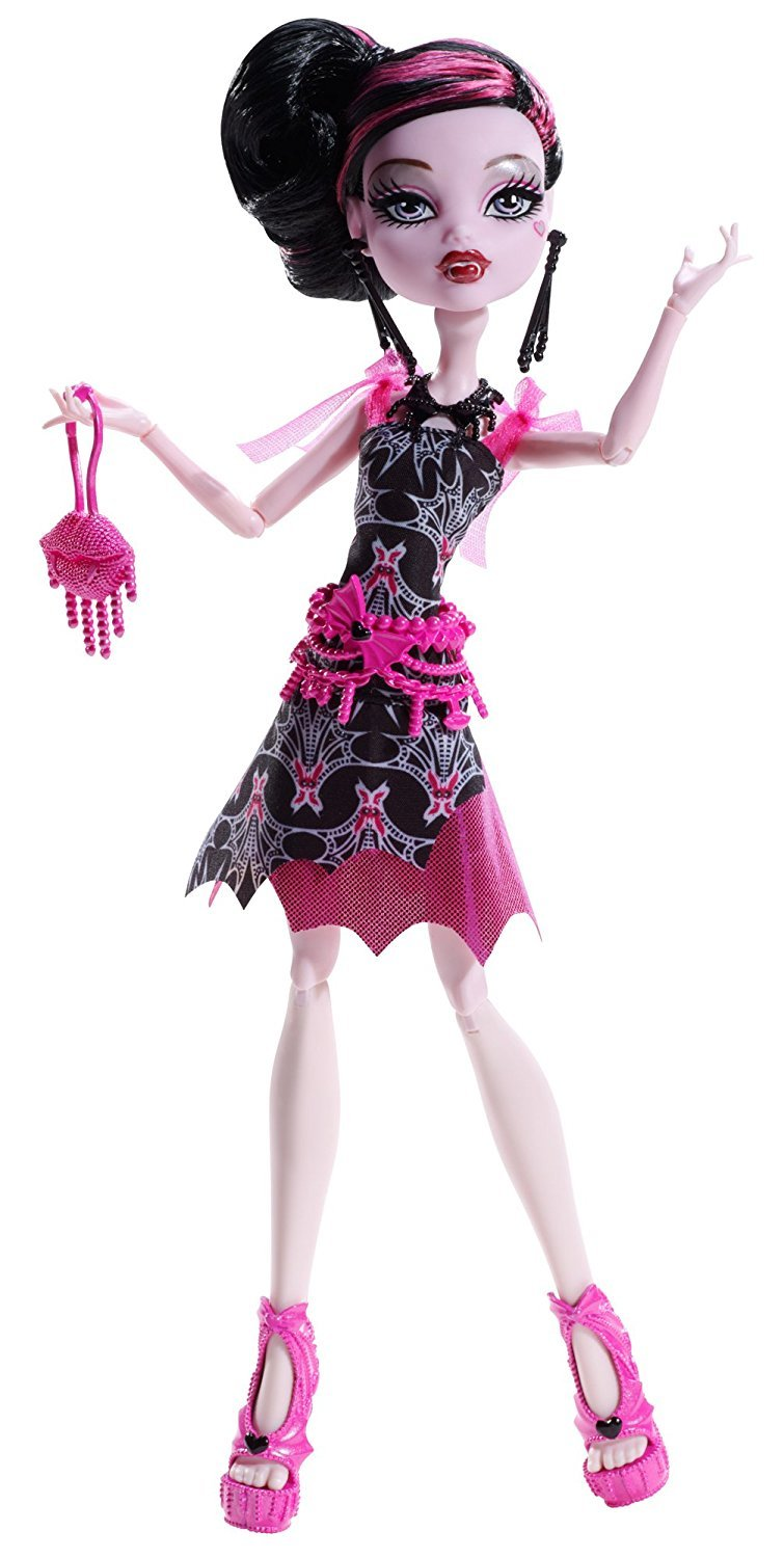 Monster High Frights, Camera, Action! Black Carpet Draculaura Doll, Mattel