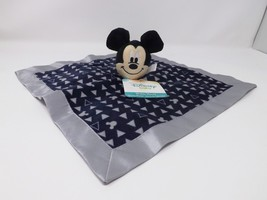 Disney Baby Mickey Mouse Blue Security Blanket Snuggle - New - $16.14