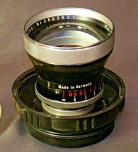 Carl Zeiss Pro-Tessar Lens f=85mm with fitted Zeiss Ikon Case AA-192032 Vintage image 7