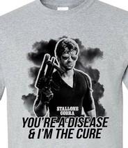 Cobra T-shirt sylvester stallone retro movie film 1980s cotton blend graphic tee image 1