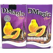 Dmagic Plus Diet Weightloss 2 Bottles 60 Cap D Magic Capsulas 100 % Original!! - $23.99
