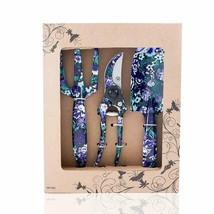 Flora Guard 3 Piece Aluminum Garden Tool Set With Purple Print - Trowel,... - $26.40