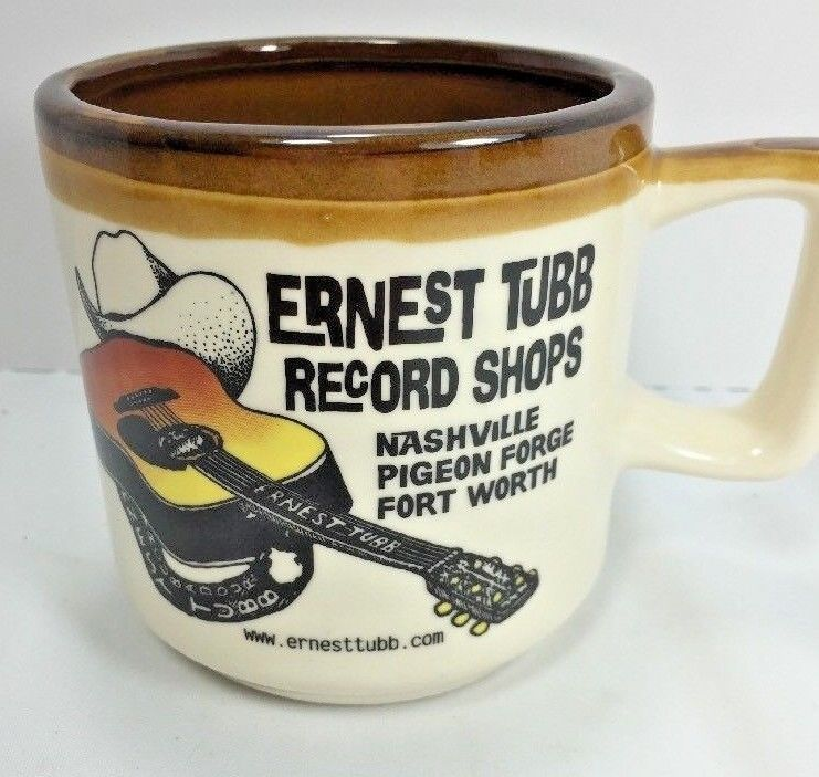 Primary image for Ernest Tubbs Souvenir Nashville TN Music City Coffee Tea Mug Cup Country Music