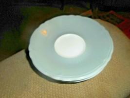 Vintage Shenango China Rimrol Welroc Coffee Cup Saucer Grey White B21 Se... - $15.83