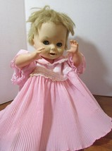 "1960's DELUXE READING CORP Plastic & Rubber 16"" BABY DOLL For Parts Repa... - $44.55"