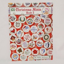 101 Christmas Minis Cross Stitch Pattern Booklet 2535 Book 2 Leisure Arts  - $16.99