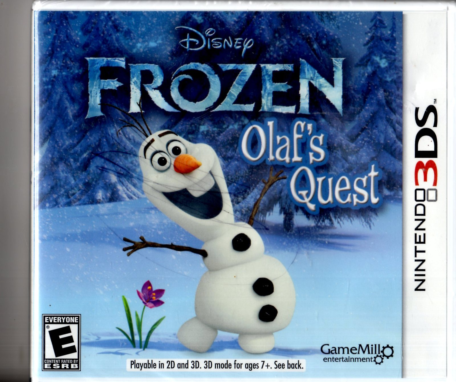 Disney Frozen: Olaf's Quest (Nintendo 3DS, 2013) Complete - Brand New