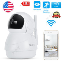 1080P HD Wireless WiFi IP Camera Security Pan Tilt Night Vision Motion D... - $68.60