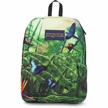 JanSport High Stakes Collection Wild Jungle Bright Colorful Backpack - $49.77 CAD