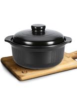2L Soup Pot Crock Pot Casserole Ceramic Saucepan Soup Pot High Temperatu... - $46.00