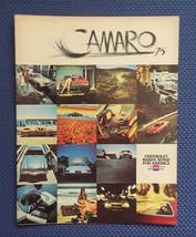 1975 Chevrolet CAMARO Only Color Sales Brochure - Original New Old Stock - $9.50