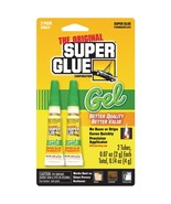 The Original SuperGlue SGG22-12 Thick-Gel Super Glue Tube (Double Pack) - $20.02