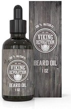 Beard Oil Conditioner- All Natural Unscented Organic Argan & Jojoba Oils - Promo