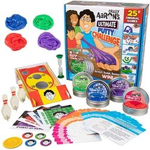 Crazy Aaron's Ultimate Putty Challenge Board Game - 25 Ways to Play and Four Exc - $39.66