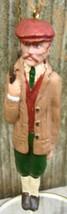 Kurt Adler English Dude Golfer Christmas Ornament - $12.99