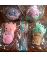 4 Rare Orb Soft 'n Slo Squishies Velvet Target Exclusive Merkitty Cone D... - $74.24