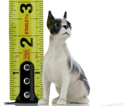 Hagen Renaker Pedigree Dog Boston Terrier Large Ceramic Figurine image 2