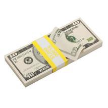 PROP MOVIE MONEY 2000 Series $10 Full Print Prop Money Stack - $14.00
